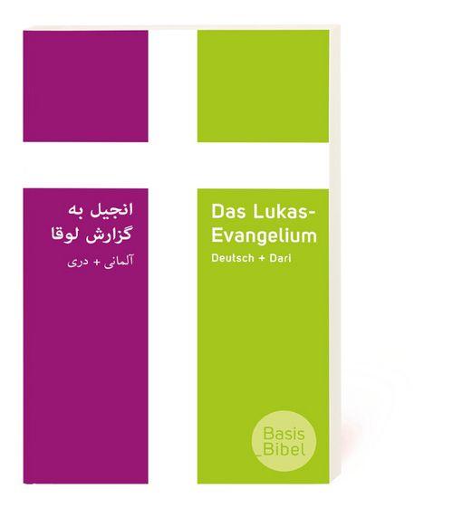 Das Lukas-Evangelium auf Deutsch und Dari