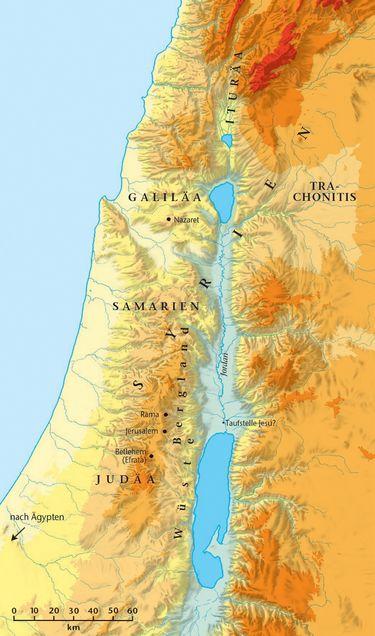 Jerusalem Karte Deutsch.Sachwort