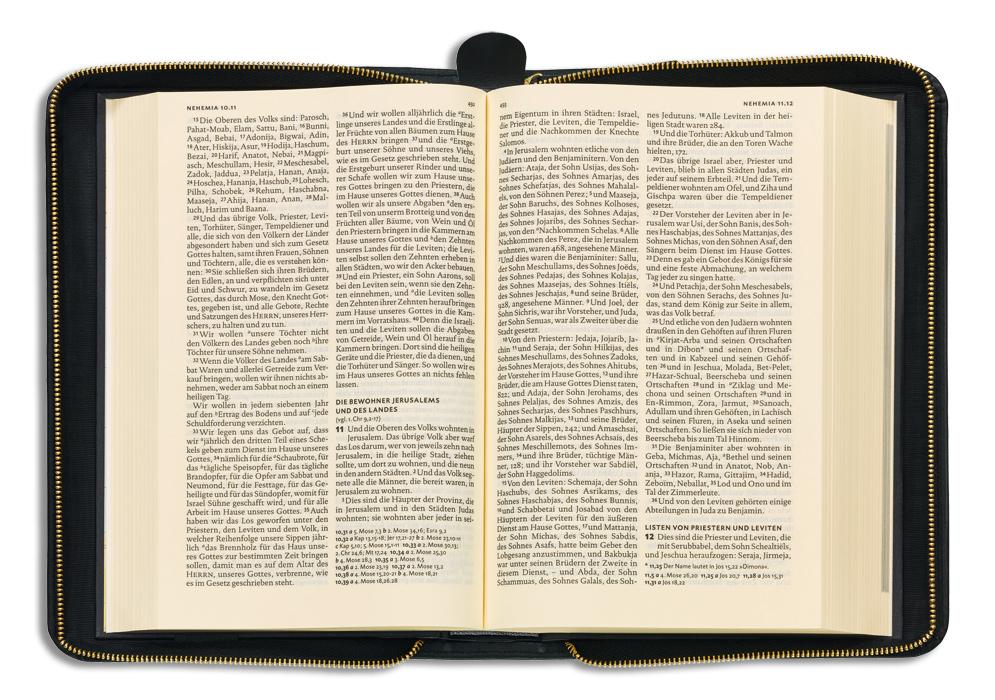 Lieferung ohne Bibel