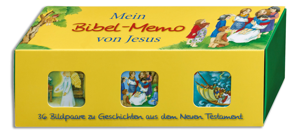 Mein Bibel-Memo von Jesus