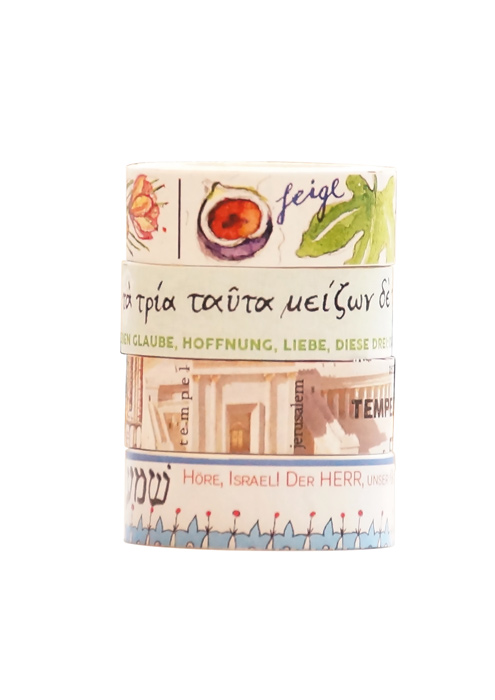Washi Tapes Set, Bibel