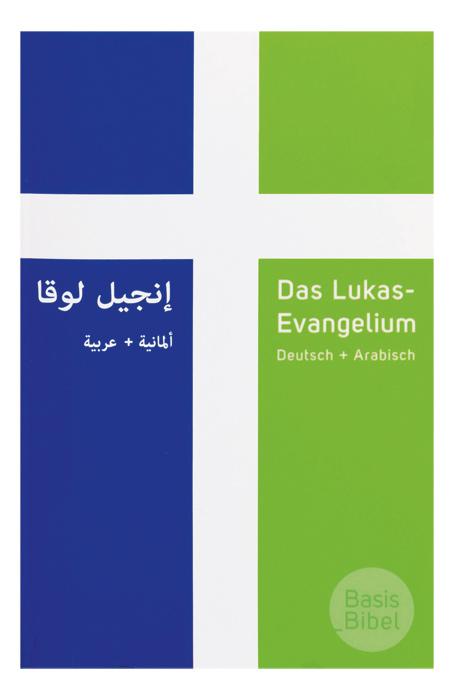 BasisBibel. Das Lukas-Evangelium Deutsch+Arabisch (10er-Pack)