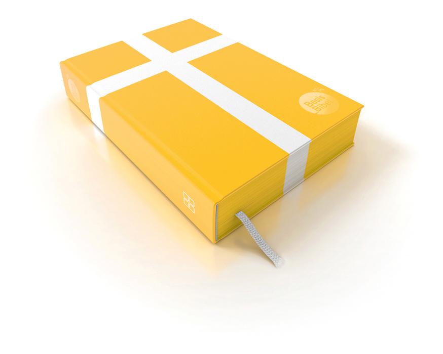 Gelbe BasisBibel ohne pinke Banderole