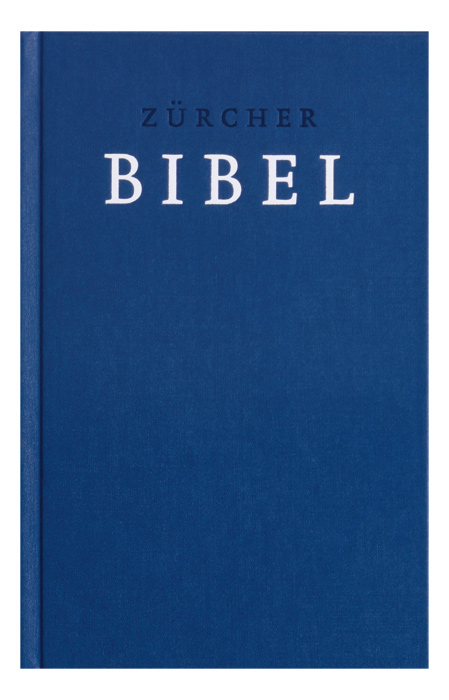 Zürcher Bibel. Festeinband. Dunkelblau