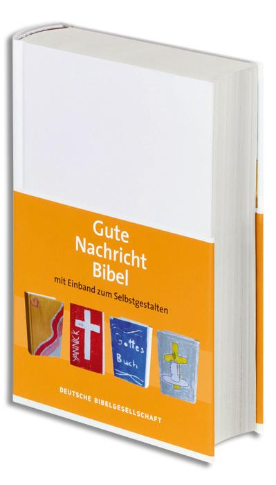 Gute Nachricht Bibel mit Einband zum Selbstgestalten