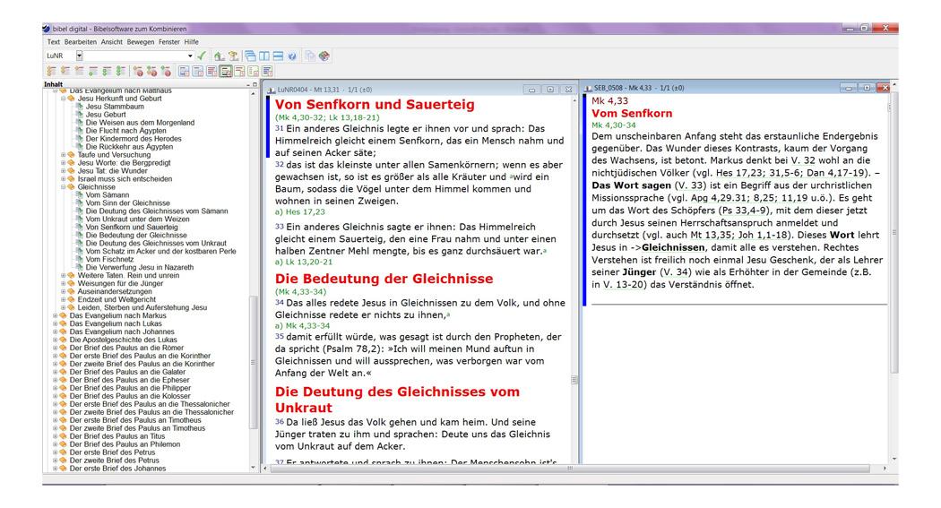 BIBELDIGITAL Stuttgarter Erklärungsbibel elektronisch