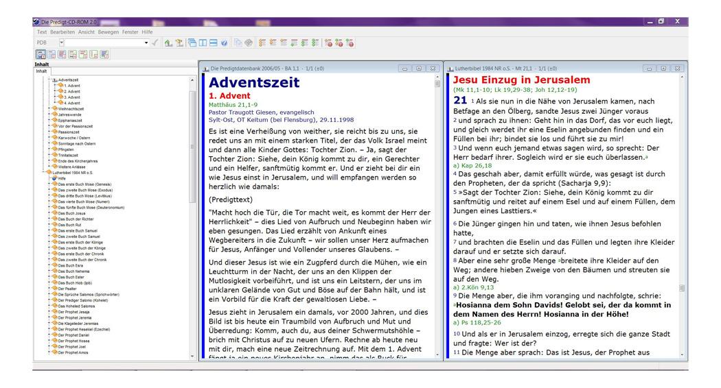 BIBELDIGITAL Die Predigt-CD-ROM 2.0