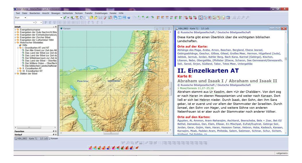 BIBELDIGITAL Der große elektronische Bibelatlas