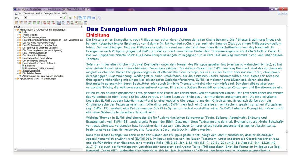 BIBELDIGITAL Schriften des Urchristentums