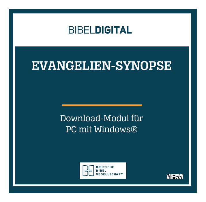 BIBELDIGITAL Evangelien-Synopse (Download-Modul)