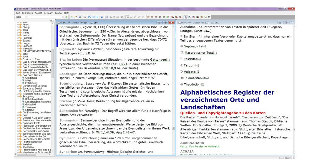 BIBELDIGITAL Elektronische Bibelkunde 3.0