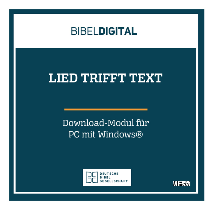 BIBELDIGITAL Lied trifft Text (Download-Modul)