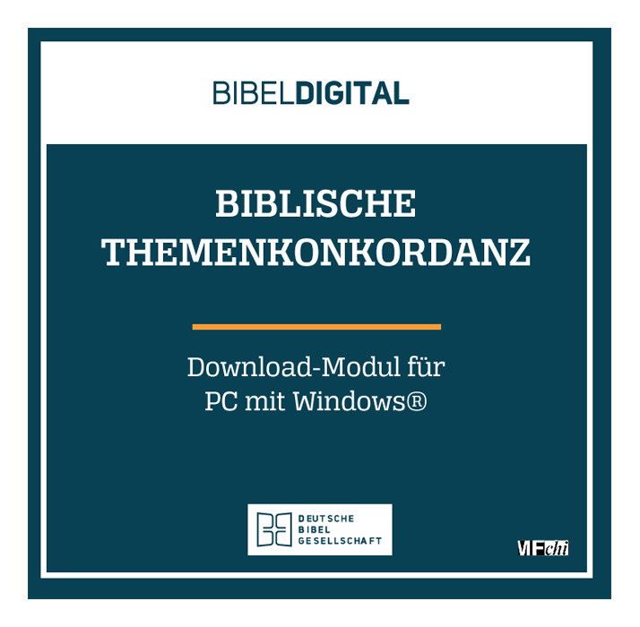 BIBELDIGITAL Biblische Themenkonkordanz (Download-Modul)