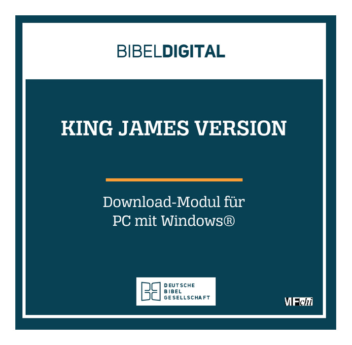 BIBELDIGITAL King James Version (Download-Modul)