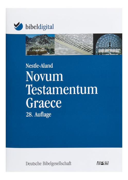 BIBELDIGITAL Nestle-Aland Novum Testamentum Graece