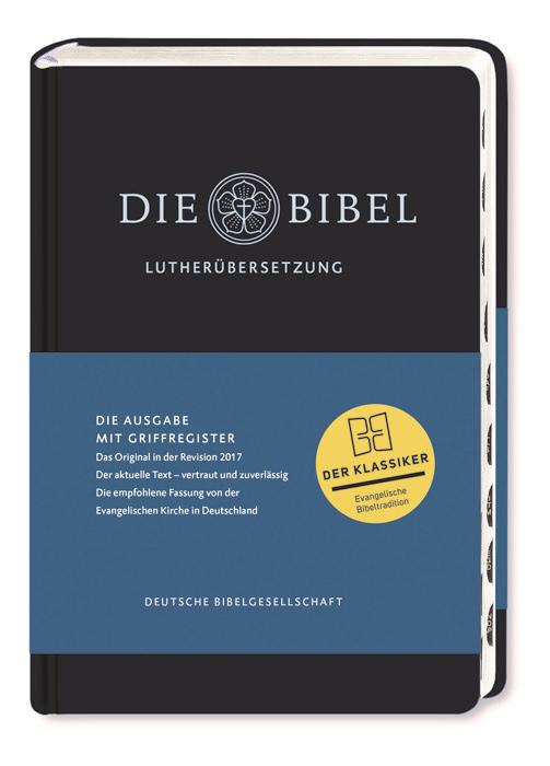 Lutherbibel revidiert 2017 mit Griffregister