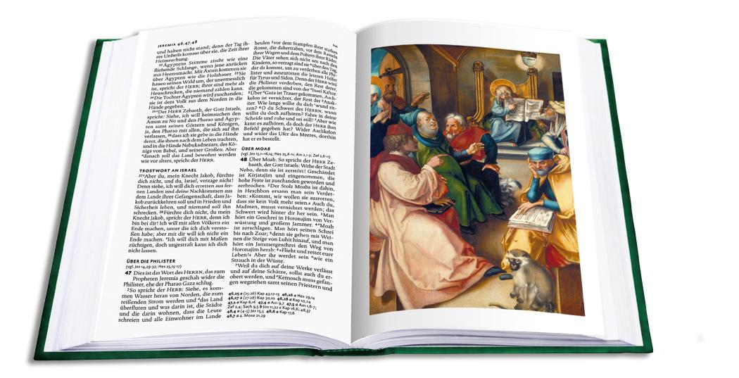 Lutherbibel mit Bildern von Albrecht Dürer