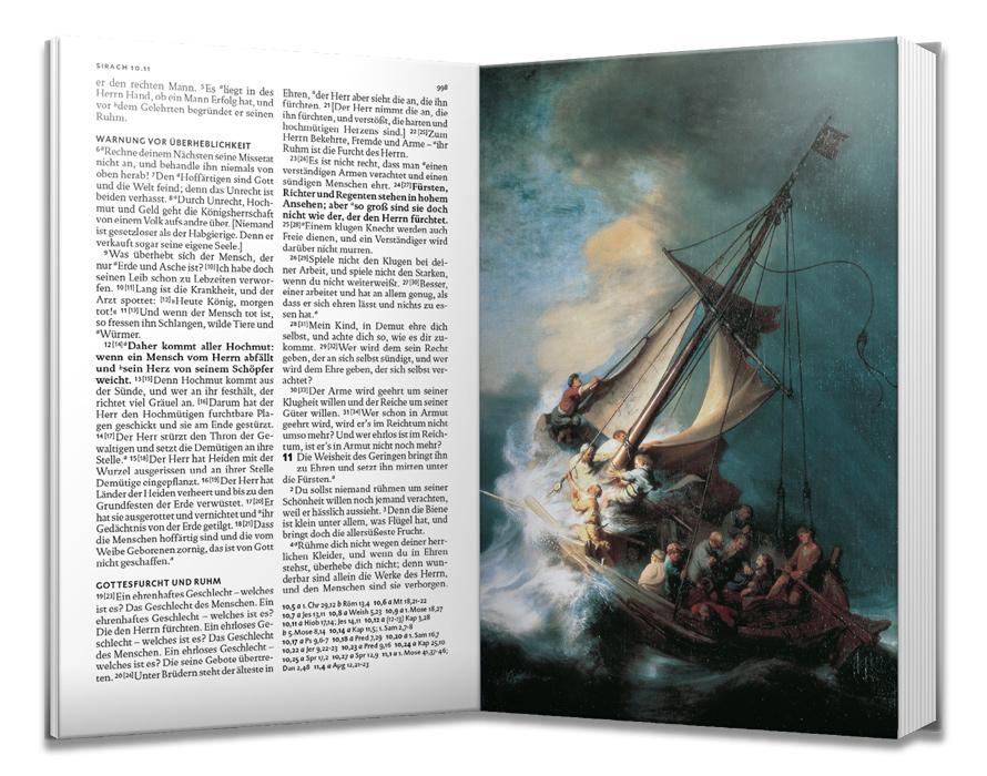 Lutherbibel. Mit Bildern von Rembrandt