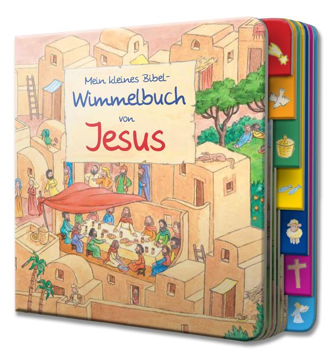 Mein kleines Bibelwimmelbuch von Jesus
