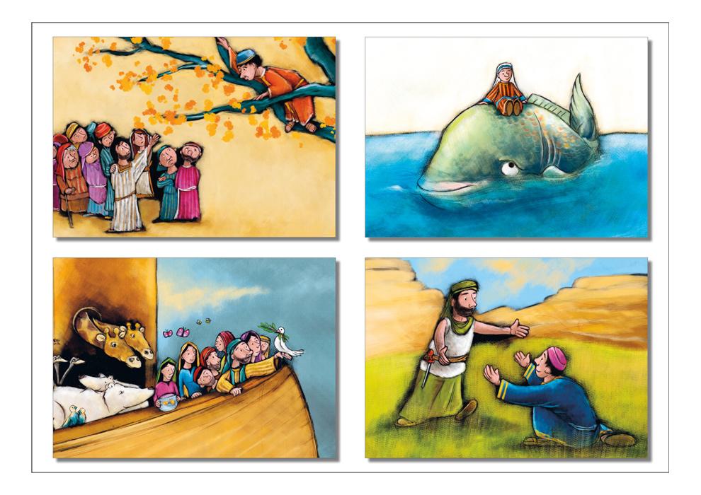 Bibel-Postkarten | Edition Mathias Weber