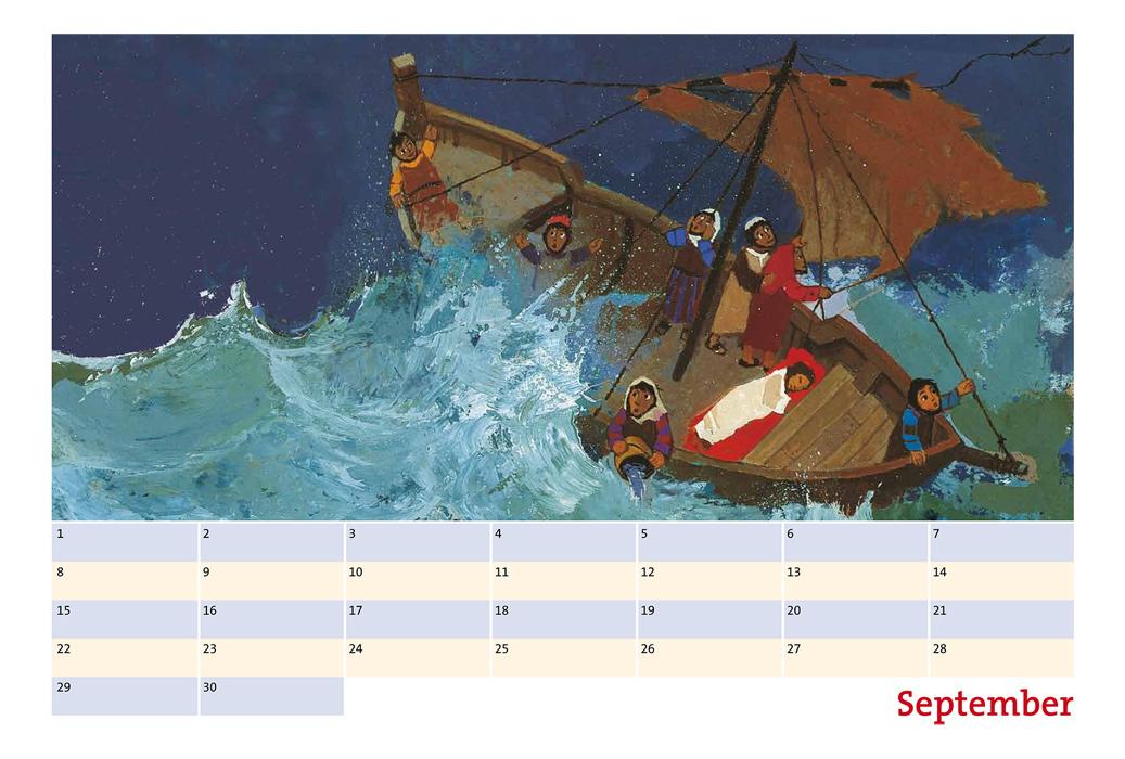Kalenderseite September