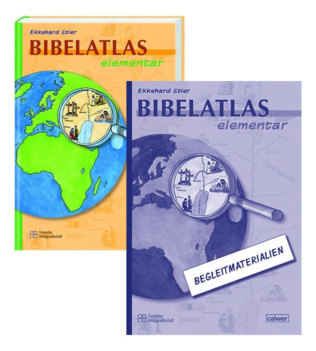 kombi paket bibelatlas elementar ab 8 jahren kinderbibeln bibeln f r kinder und. Black Bedroom Furniture Sets. Home Design Ideas