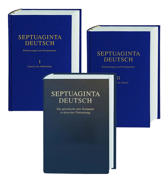 Septuaginta - Deutsch Studienpaket