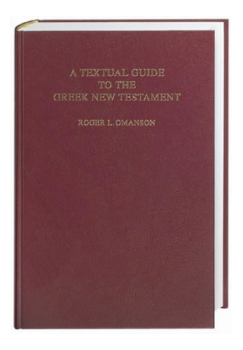 A Textual Guide to the Greek New Testament