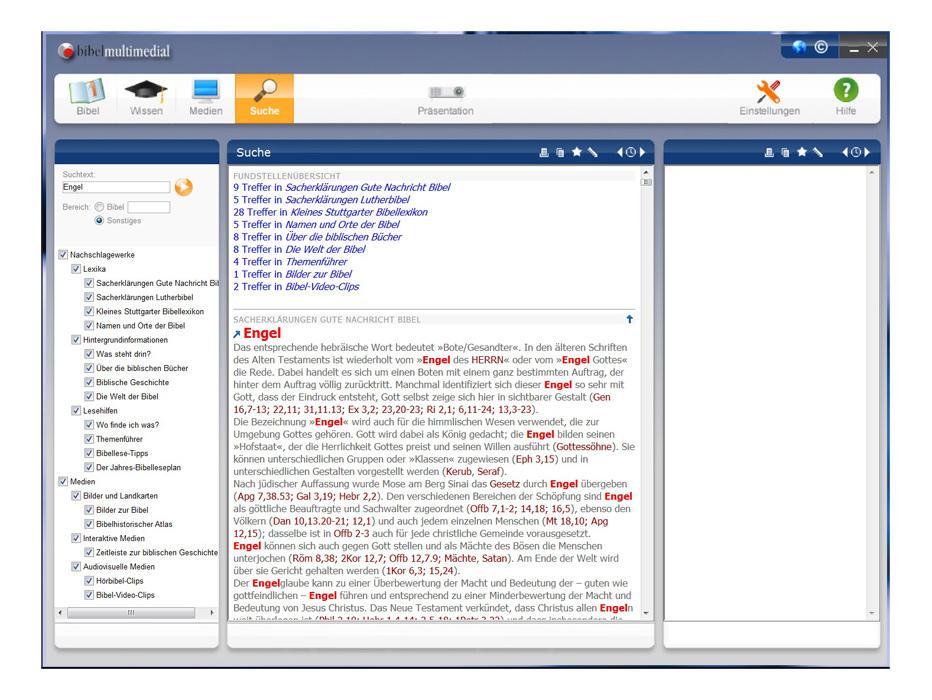 bibelmultimedial: Deutsche Bibelübersetzungen
