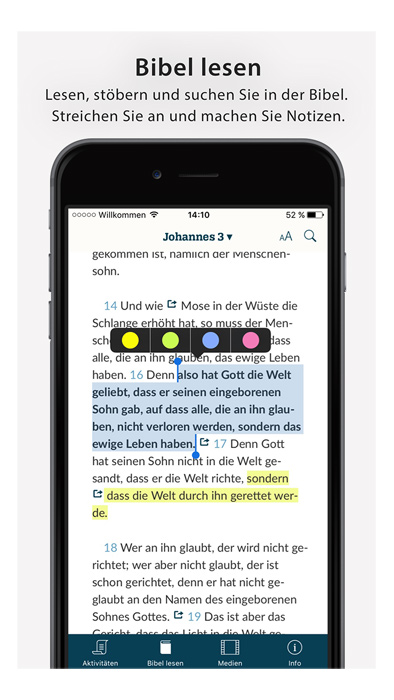 Lutherbibel 2017 als App