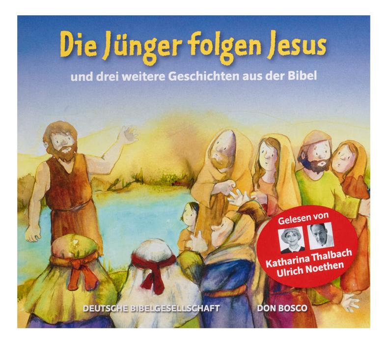 Die Jünger folgen Jesus