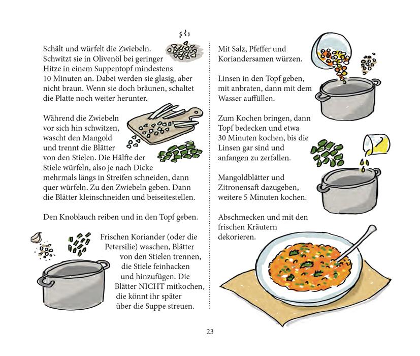 Von Falafel bis Zimtschnecke