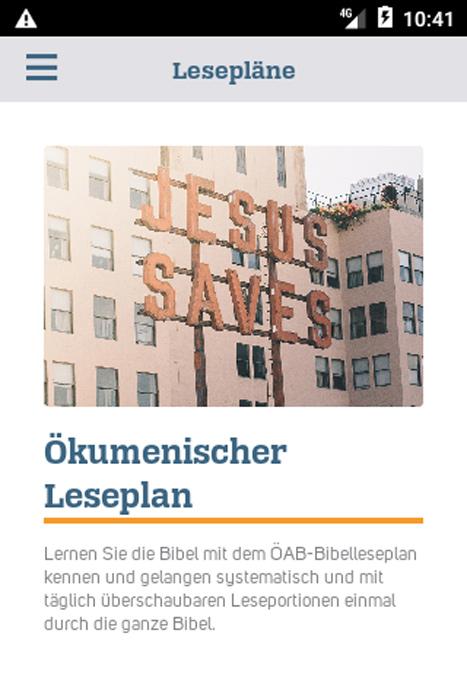Smartphone: Bibellesepläne